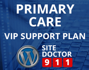 Primary Care WordPress Support