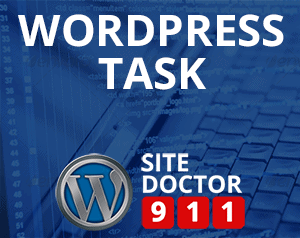 WordPress Task